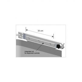 Bavolet Anti-X simple articulation avec rail porte accessoires et protection haute amovible