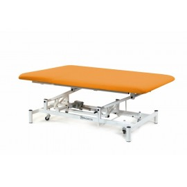 Table Bobath électrique 1 plan sur roulettes escamotables Mobercas
