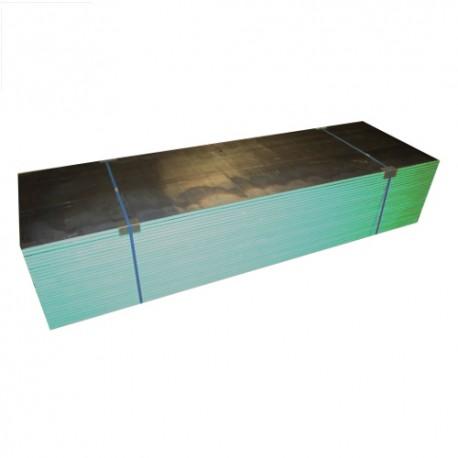 Plaque de plâtre plombée hydrofuge