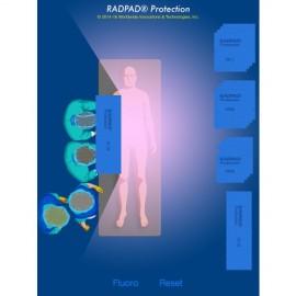 Radpad 5110 champ stérile Anti-X périphérique