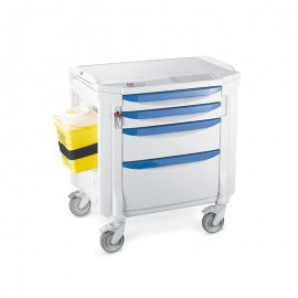 Chariot de soins Flexline Metro 4 tiroirs