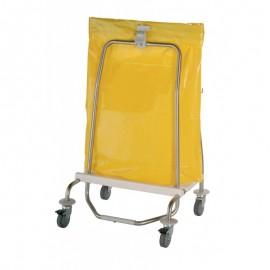 Support-sacs déchets 70 à 120L 4 roues