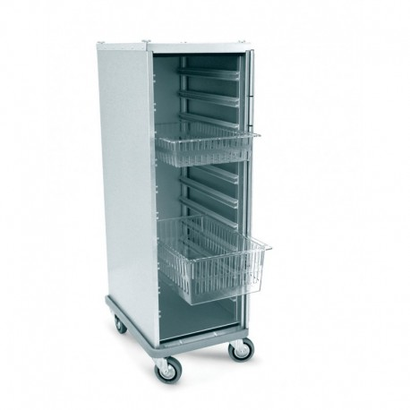 Chariot armoire ISO 12 bacs