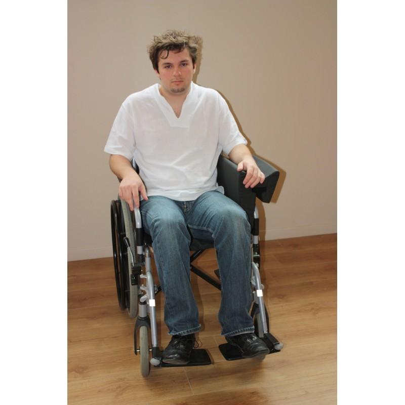 coussin goutti re pour fauteuil roulant. Black Bedroom Furniture Sets. Home Design Ideas