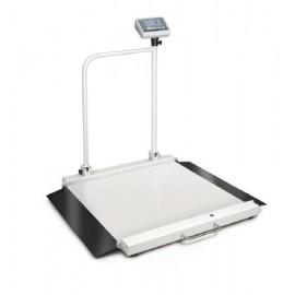Plateforme de pesée avec barre de maintien Kern pour chaise roulante