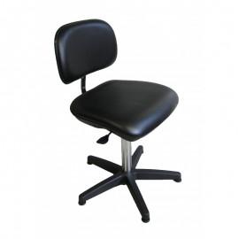 Chaise de laboratoire ergonomique avec dossier