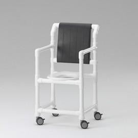 Chaise de douche avec assise polyuréthane