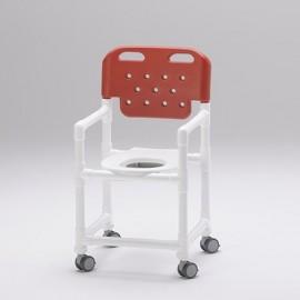 Chaise de douche avec lunette ergonomique