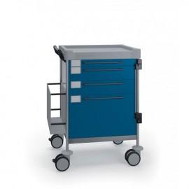Chariot tiroir 1/50 2/100 1/20 dossiers radios