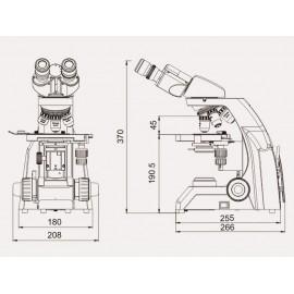 Microscope biologique 40-16000X