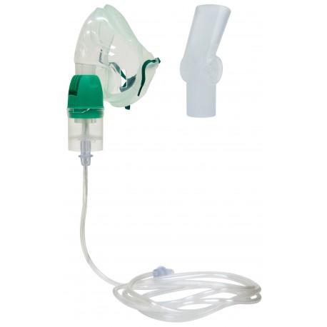 Kit de nébulisation avec masque et embout buccal