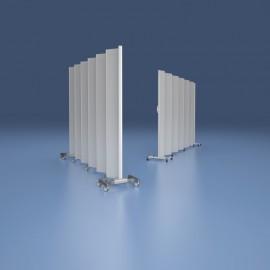 Paravent mobile hauteur 165cm blanc