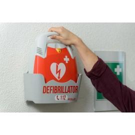 Support mural défibrillateur Schiller Fred PA-1