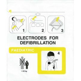 Electrodes enfants Easy Port - PA-1 - Defigard T7 - Lifecare 1 et 2 - Tempus LS