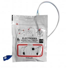Electrodes pré-connectées adultes RFID FRED PA-1 - Easy Port - APLC II