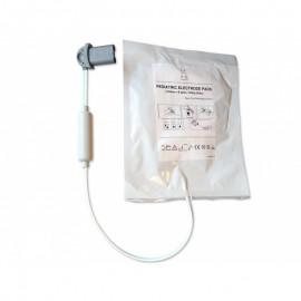Electrodes pédiatriques pour défibrillateurs Saver One (la paire)