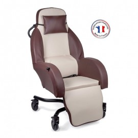 Fauteuil coquille SELECTIS pistache
