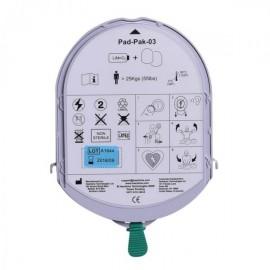 Pad Pack Piles Electrodes Adulte Samaritan HeartSine