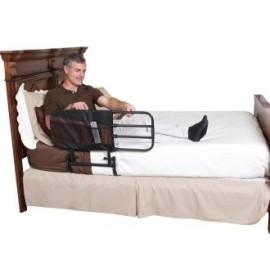 Barrière de lit escamotable