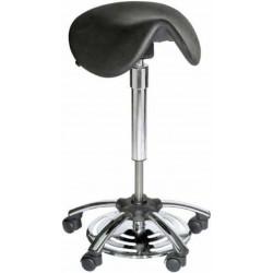 Selle de chirurgien inclinable ergonomique commande aux pieds