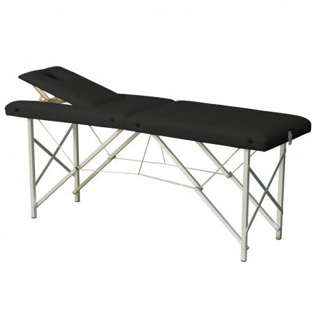Table de massage pliante avec dossier inclinable