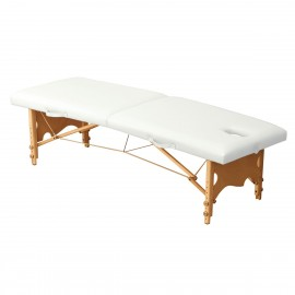 Table de massage pliante en bois