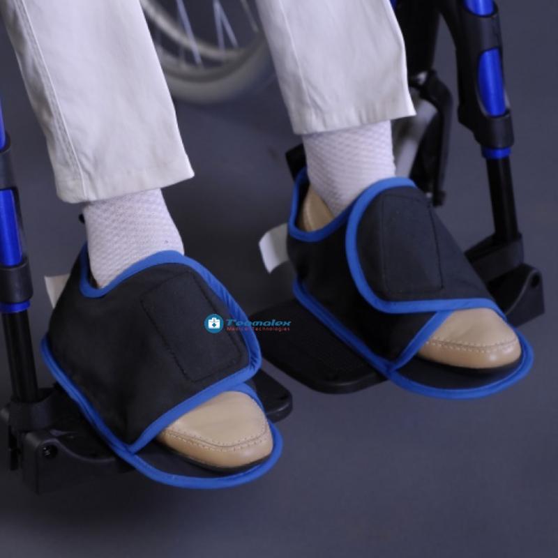 Chaussons de maintien au fauteuil