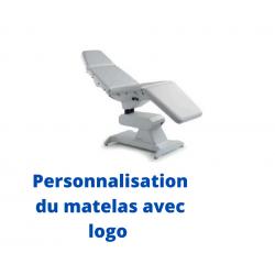 personnalisation du matelas avec logo
