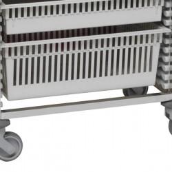 Tiroir ABS 2 unités pour chariot modulaire