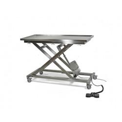 Table de chirurgie vétérinaire électrique sur roulettes