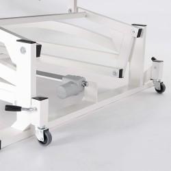Option jeu de 4 roues pour table Bobath M-L