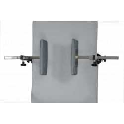 Repose-tête pour table de verticalisation
