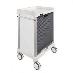 Chariot à médicaments 12 niveaux 600x400mm