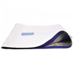 Couverture anti-glisse au lit