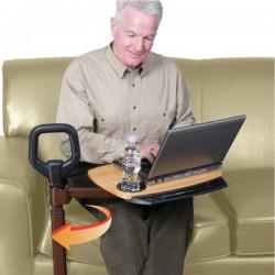 Aide à la levée de fauteuil CouchCane avec tablette