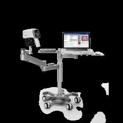 Vidéo colposcope C3A Edan Swing Arm + PC Tray