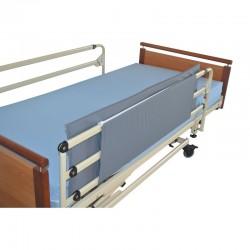 Protection de barrière de lit zippée