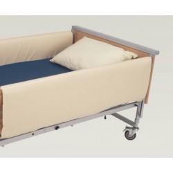 Protection de barrière de lit grande longueur