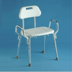 Tabouret de douche assise large XL bariatrique