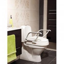 Réhausse toilette wc Cloo avec accoudoirs
