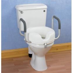 Siège de toilette wc avec accoudoirs