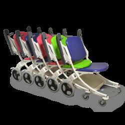 Chaise de transfert encastrable