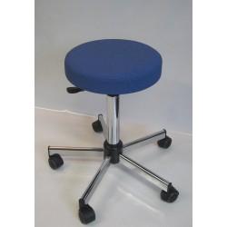 Tabouret médical réglable avec assise confort