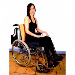 Coussin galbé de positionnement au fauteuil
