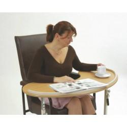Table de fauteuil incurvée Kidney