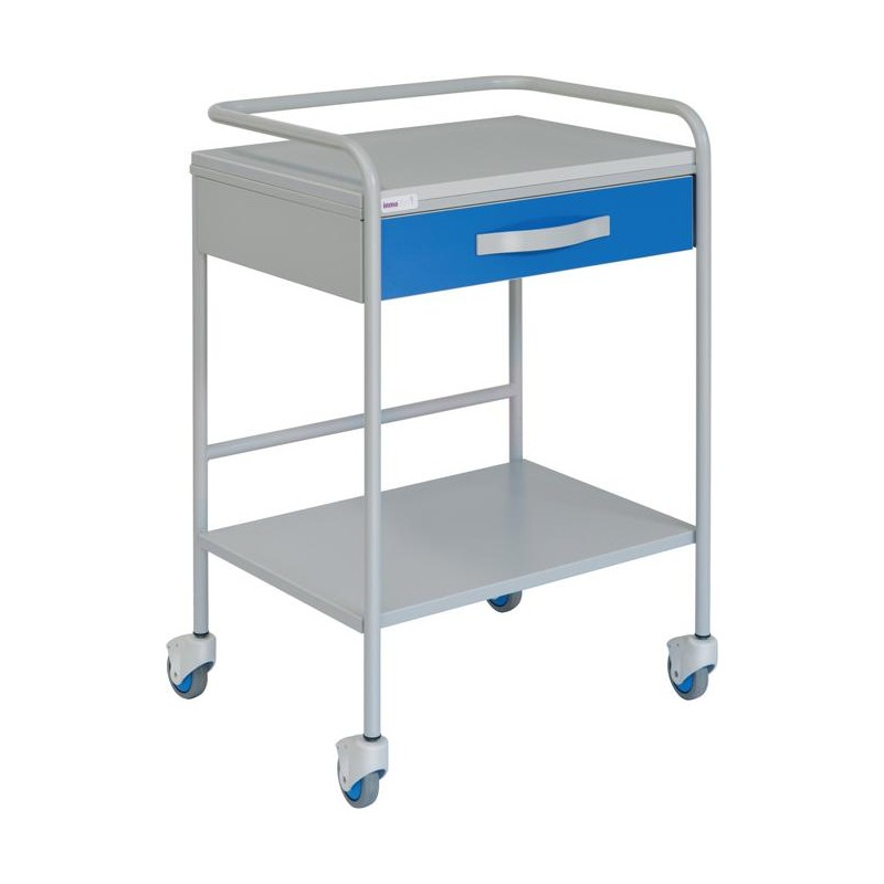 Chariot pour ECG avec tiroir