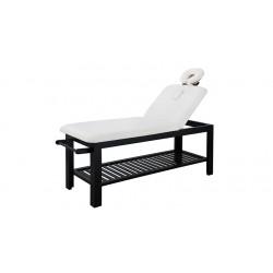 Table spa en bois fixe à 2 plans