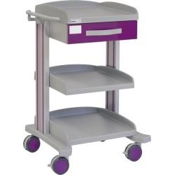 Chariot multifonctions pour hôpital