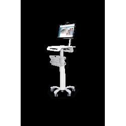 Chariot médical informatique
