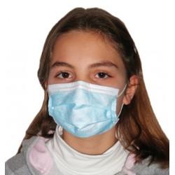Masque enfant très haute filtration Type II à élastiques